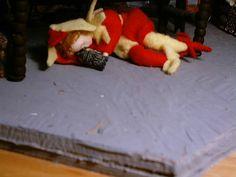 the jester has had one too many! Norman Castle, Shag Rug, Dollhouse Miniatures, Home Decor, Shaggy Rug, Decoration Home, Room Decor, Doll House Miniatures, Rug
