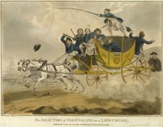 The Jolly Tars of Old England on a Land Cruise (caricature) - National Maritime Museum