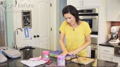Video: How I Set Up for School Lunch (and Breakfast)!