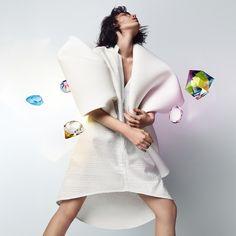 Explore the universe of Swarovski professional. Brand Campaign, Swarovski Crystals, Kimono Top, Mini, Dresses, Women, Fashion, Vestidos, Moda