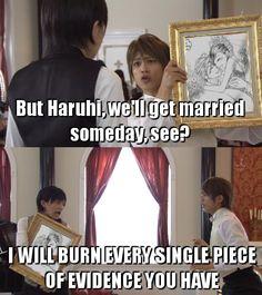 Lol Haruhi and Tamaki