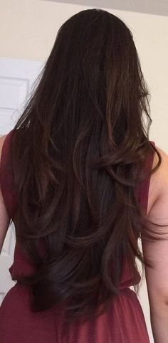 New hair cuts styles chart 15 ideas Haircuts For Long Hair With Layers, Haircuts Straight Hair, Long Layered Hair, Colored Hair Tips, Long Hair Tips, Beautiful Long Hair, Cool Hair Color, Hair Highlights, Hair Hacks