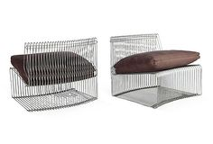 Kelly Wearstler Metal Cage Chairs