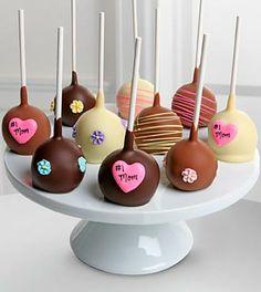 Golden Edibles™ #1 Mom Cake Pops. #mom #MothersDay #FTD
