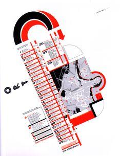 Graphics Design for the 21st Century - Taschen: Martin Woodtli 'from door to door' Stadtgalerie Bern 1999