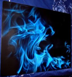 Real Flame Test Panel Different Candy Colors My Airbrushing - Custom vinyl decals for rc carsimages of cars painted with flames true fire flames on rc car
