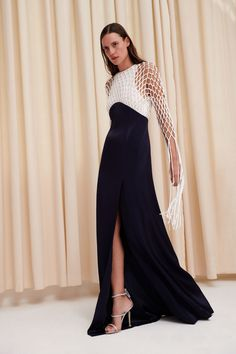 Galvan Spring 2020 Ready-to-Wear Fashion Show Collection: See the complete Galvan Spring 2020 Ready-to-Wear collection. Look 21 Fashion 2020, Runway Fashion, Fashion Beauty, Couture Fashion, Fashion Women, Fashion Brands, Women's Fashion, Vogue Paris, Backstage