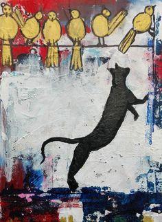 Katzenspiele - 300 Teile - GRAFIKA Puzzle