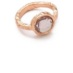 Marc by Marc Jacobs Exploded Bow Tiny Crystal Ring ($48) ❤ liked on Polyvore