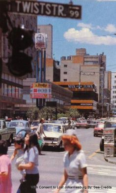 Intersection - Twist and Kotze Sreets, Hillbrow Johannesburg City, Third World Countries, Cape Town South Africa, My Family History, Historical Pictures, The Good Old Days, Back In The Day, Old Pictures, Live