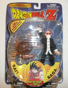 Dragonball Z Master Roshi Action Figure with Turtle Dragon Ball DBZ Saiyan Saga Dbz Toys, Originals Cast, Cool Toys, Dragon Ball Z, Saga, Action Figures, Turtle, It Cast, Anime