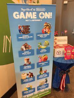 Fro-Yo Girl Speaks: Yogurtland & Nintendo Game On Launch Party, New Flavors