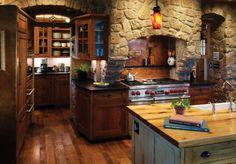 Cocina rústica - Rustic kitchen 1