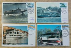 Australian Ferry Postcards FDC 1979