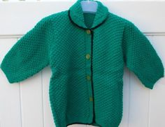 Sweaters  Hand Made Knit Green Sweater for Girls (5-6 years old) Big Discount