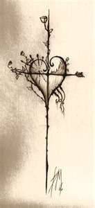 Cross, heart tattoo http://media-cache4.pinterest.com/upload/206743439113495611_As5aVV1x_f.jpg brendib1 tattoos