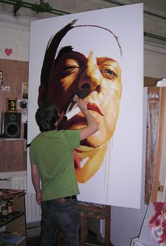 David de las Heras at work