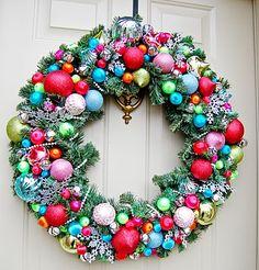 A Feathered Nest: DIY Christmas wreath