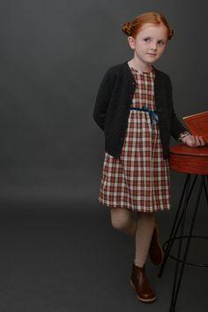 Classic Tie Dress | Olive Juice #holidayoutfit #girlfashion