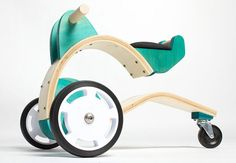 the coop trike wooden design