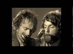 "2 of my favorite buskers. Damien Rice & Ray Lamontagne cover the Bee Gees ""To Love Somebody"""