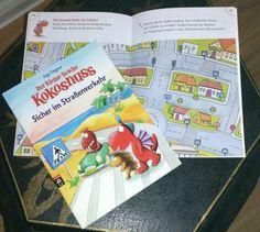 Der kleine Drache Kokosnuss - Sicher im Straßenverkehr, ein Kinderbuch von Ingo Siegner. Sicher im Straßenverkehr: Dieses Buch, mit kindegerechten Texten und Bildern gibt schon den Kleinsten gute u...