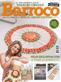 Artesanato com amor...by Lu Guimarães: LANÇAMENTO: Revista Barroco Especial – Simone Eleo...