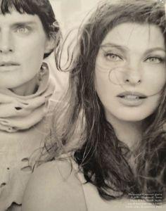 Supermodelos | Vogue Italy September 2014 | Linda Evangelista, Stella Tennant and more by Steven Meisel