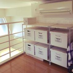 ロフト付きのお部屋を探す時に気をつける3つのポイント&お洒落インテリア実例☆ | folk