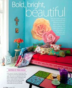 frida kahlo inspired house decorating - Google Search