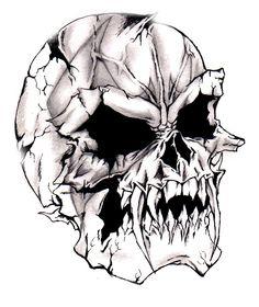 Devilish-Evil-Skull by ~darkeners on deviantART