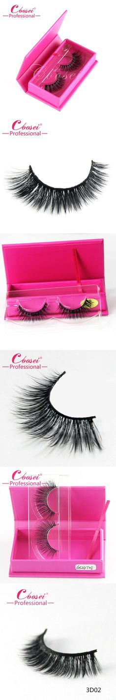 Natural Long False Eyelashes 3D Fake Lashes Extension Mink Beauty Makeup Synthetic Cosmetics With One Magnetic Eyelashes Box