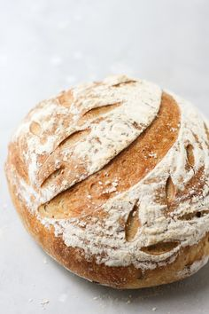 No Knead Rosemary Olive Oil Sourdough Bread - pumpkinandpeanutbutter