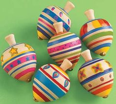 Fun Express - Wooden Painted Spin Tops - Toys - Value Toys - Tops - 12 Pieces Easter Bunny, Easter Eggs, Fun Express, Spinning Top, Wooden Tops, Top Toys, Egg Hunt, Classic Toys, Toy Boxes