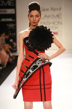 Asa Kazingmei Winter/Festive 2012. Lakmé Fashion Week.
