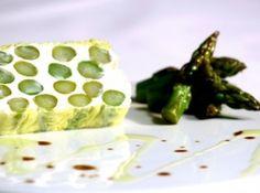Terrine de aspargos e queijo de cabra - Veja como fazer em: http://cybercook.com.br/receita-de-terrine-de-aspargos-e-queijo-de-cabra-r-2-91320.html?pinterest-rec