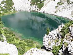 wunderschöner, tief grüner Silberkarsee #ramsau #wandern #bergsee Bad Gastein, Travel, Outdoor, Viajes, Nice Asses, Round Round, Outdoors, Destinations, Traveling