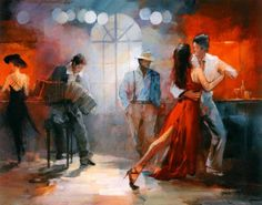 willem haenraets Tango print for sale. Shop for willem haenraets Tango painting and frame at discount price, ships in 24 hours. Cheap price prints end soon. Wood Painting Art, Art Paintings, Art Triste, Dubai Nightlife, Tango Art, Tango Dancers, San Francisco Art, New York Art, Gothic Accessories