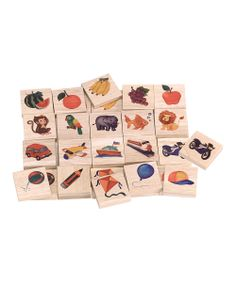 Think & Tell Wooden Game