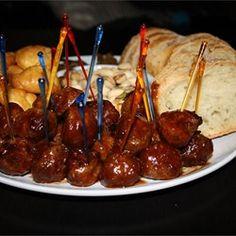 Cajun Appetizer Meatballs - Allrecipes.com