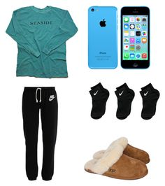 """""""Untitled"""" by annalavelle13 ❤ liked on Polyvore featuring mode, NIKE et UGG Australia"""
