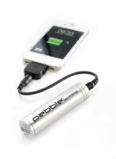 Veho VPP-002-SSS Pebble Smartstick Emergency 2200mAh Portable Battery for iPhone/Blackberry/Samsung/HTC/Nokia (Silver) by Veho. $27.80. The Veho Pebble Smartstick packs 2200mah which is enough power to give most cell devices a full charge when you leave the home or office without remembering to top up your mobile power from the mains. As well as helping you out of a powerless corner the Smartstick has a stylish micro sized design perfect for the purse or pocket and comes in ...