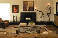 High Quality Nice Living Room African Safari Decor Design Ideas, Pictures, Remodel, And  Decor   Pa.