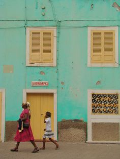 those colors! Ribeira Grande, Cape Verde