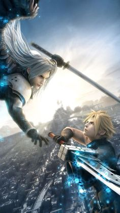 Final fantasy 7 - Cloud Vs Sephirote