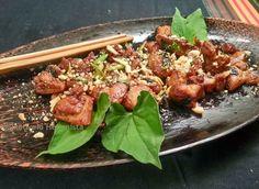 Műkedvelő Hedonista: Sült csirkecomb halpikkely mentával