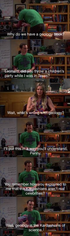 Sheldon's Opinion on Geology  // funny pictures - funny photos - funny images - funny pics - funny quotes - #lol #humor #funnypictures