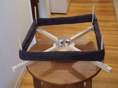 Instructions for building a DIY yarn swift.