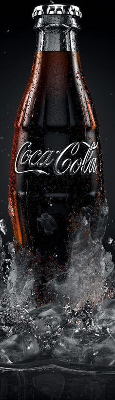 Cocacola-ice by colorsponge , via Behance