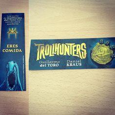 Punto de libro de 'Trollhunters' de Guillermo Del Toro (Puck) #fantasía #novela